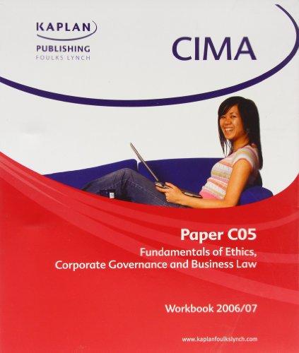 CIMA Paper C5 Business Law