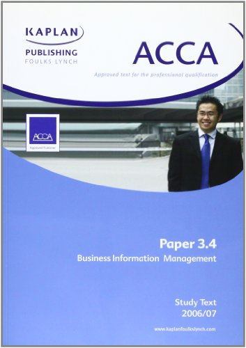 ACCA Paper 3.4 Business Information Management