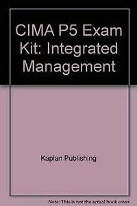 9781843909194: CIMA P5 Exam Kit: Integrated Management