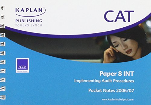 Implementing Auditing Procedures: Kaplan Publishing