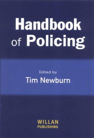 9781843920205: A Handbook of Policing