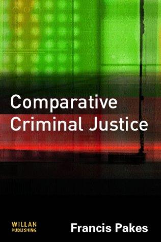 9781843920328: Comparative Criminal Justice