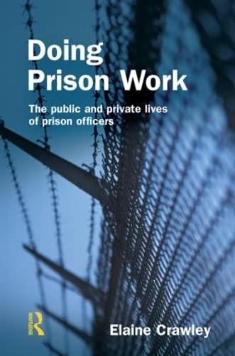 9781843920359: Doing Prison Work