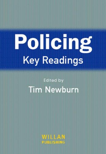 9781843920915: Policing: Key Readings