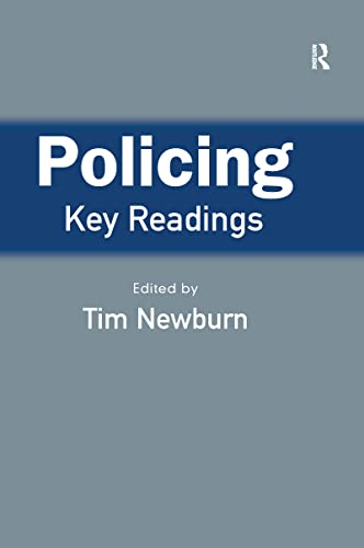 9781843920922: Policing: Key Readings