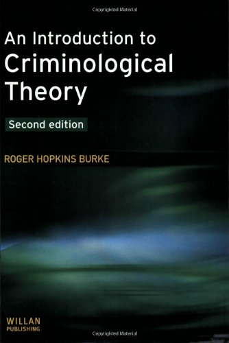 9781843921646: An Introduction to Criminological Theory: Second Edition