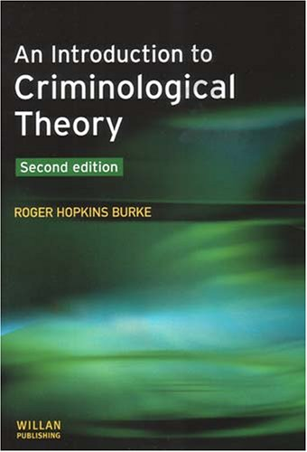 9781843921653: An Introduction to Criminological Theory: Second Edition