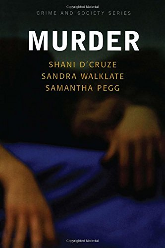 9781843921707: Murder (Crime and Society Series)