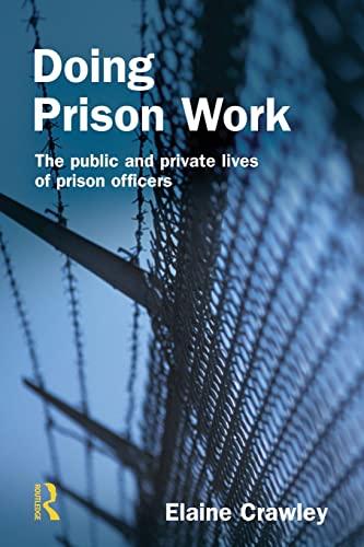 9781843922162: Doing Prison Work