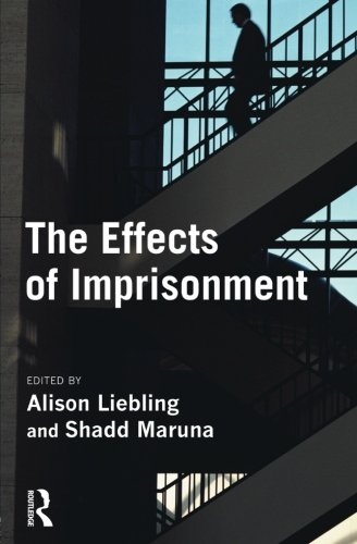 9781843922179: The Effects of Imprisonment (Cambridge Criminal Justice Series)