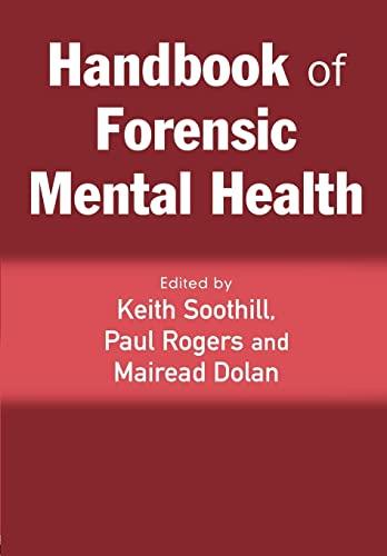 9781843922612: Handbook of Forensic Mental Health