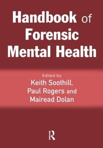 9781843922629: Handbook of Forensic Mental Health