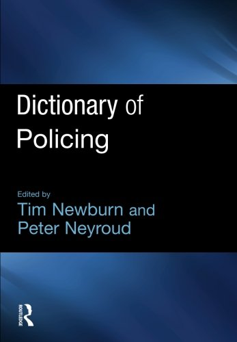 9781843922872: Dictionary of Policing