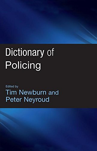 9781843922889: Dictionary of Policing