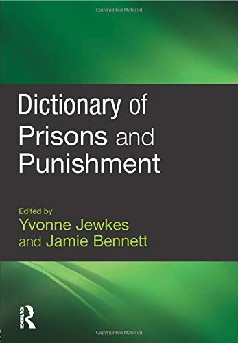 9781843922919: Dictionary of Prisons and Punishment