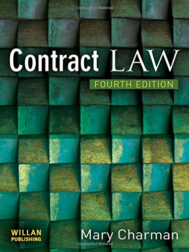 9781843923589: Contract Law