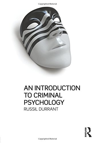 9781843923770: An Introduction to Criminal Psychology (Volume 1)