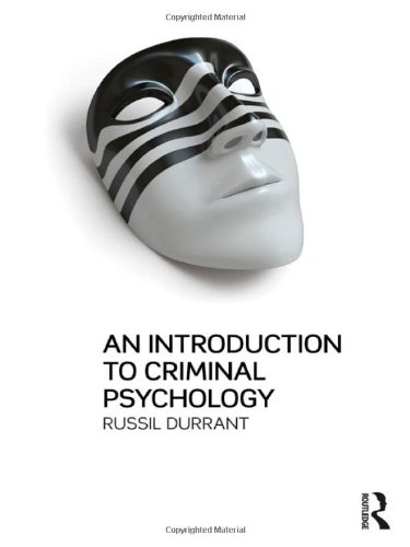 9781843923787: An Introduction to Criminal Psychology