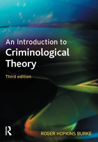 9781843924074: An Introduction to Criminological Theory
