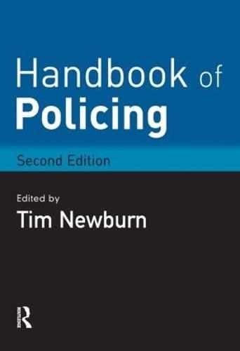 9781843925002: Handbook of Policing