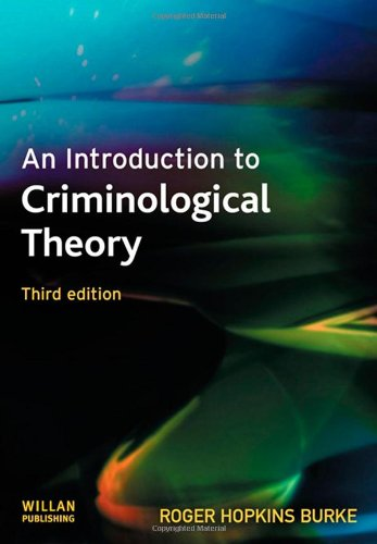 9781843925699: An Introduction to Criminological Theory