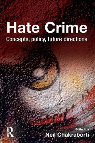 9781843927792: Hate Crime
