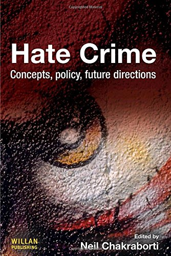 9781843927808: Hate Crime: Concepts, Policy, Future Directions