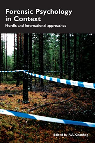 9781843928270: Forensic Psychology in Context: Nordic and International Approaches