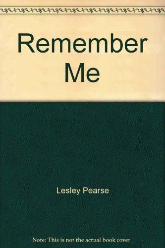 9781843951766: Remember Me