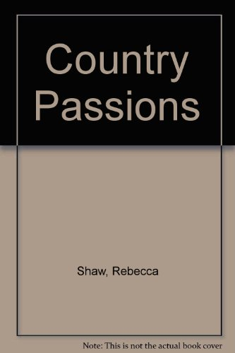 9781843953975: Country Passions