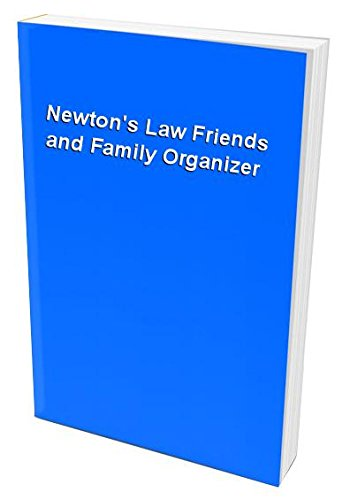 9781843973225: Newton's Law Friends and Family Organizer