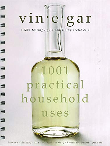 9781843978060: Vinegar: 1001 Practical Household Uses