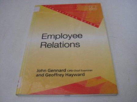 Employee Relations Revision Guide: Gennard, John, Hayward,