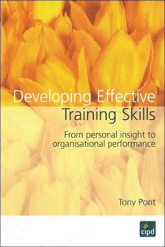 9781843980278: Developing Effective Training Skills
