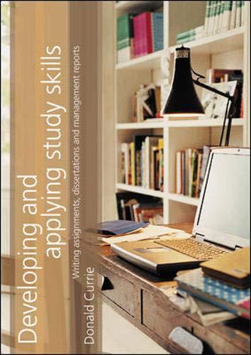 9781843980643: Developing and Applying Study Skills