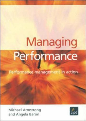 9781843981015: Managing Performance: Performance Management in Action (Developing Practice)