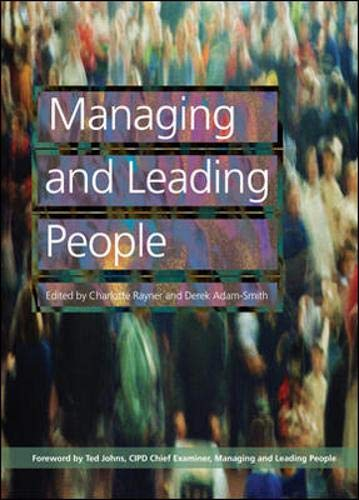 Managing and Leading People: Rayner, Charlotte, Adam-Smith,
