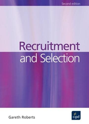 9781843981176: Recruitment and Selection