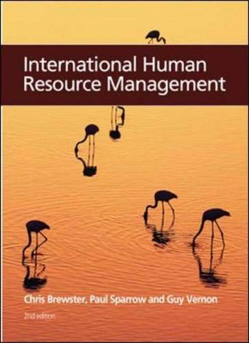 9781843981596: International Human Resource Management