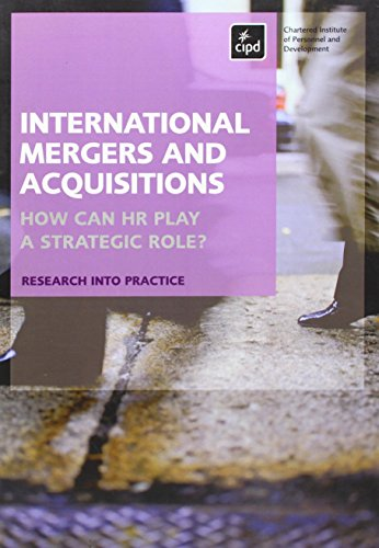 9781843982135: International Mergers and Acquisitions: How Can HR Play a Strategic Role?