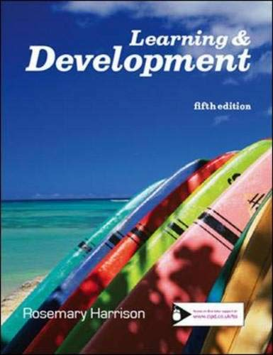 9781843982166: Learning and Development
