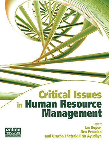 Critical Issues in Human Resource Management (Cipd