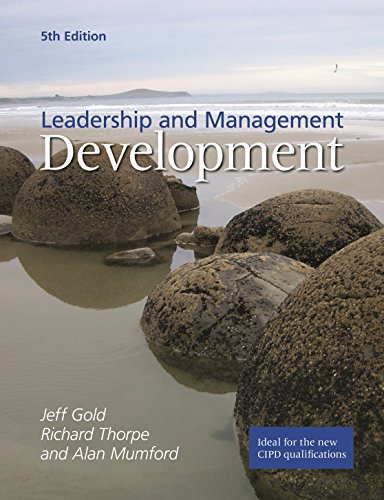 Leadership and Management Development (1843982447) by Jeffrey Gold; Richard Thorpe; Alan Mumford