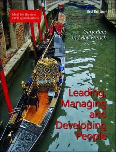 9781843982579: Leading, Managing and Developing People