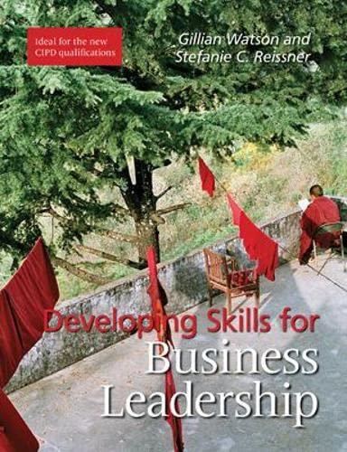 9781843982609: Developing Skills for Business Leadership