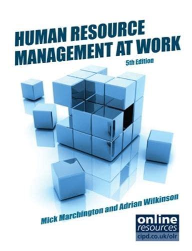 9781843982678: Human Resource Management at Work