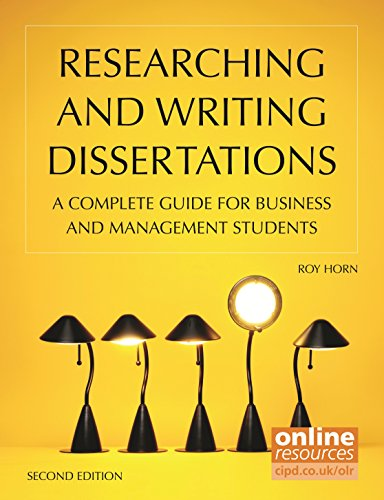 9781843983026: Researching and Writing Dissertations: A Complete Guide for Business and Management Students
