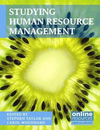 9781843983125: Studying Human Resource Management