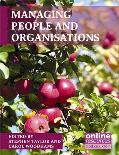 Managing People and Organisations: Stephen Taylor