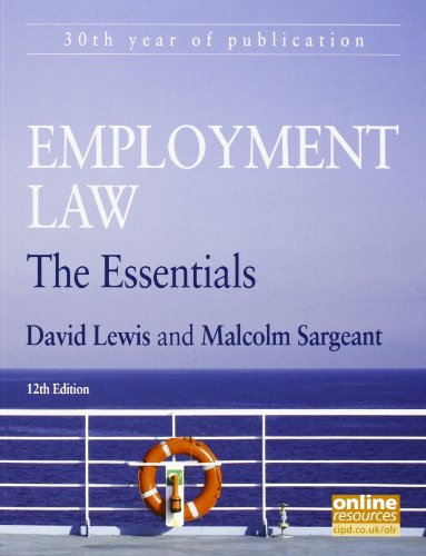 9781843983156: Employment Law: The Essentials